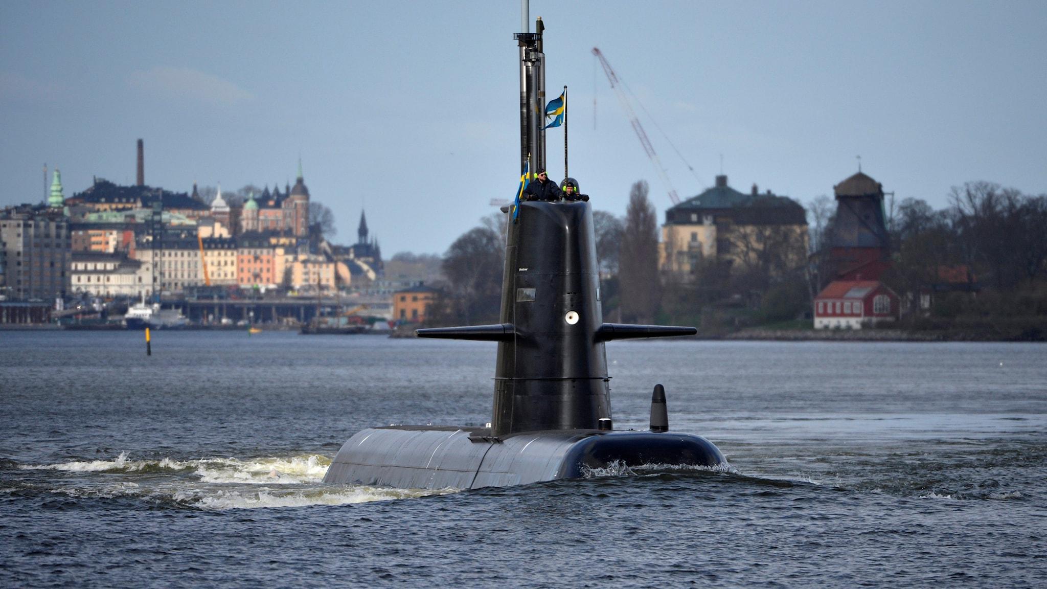 Jag jobbar på en ubåt