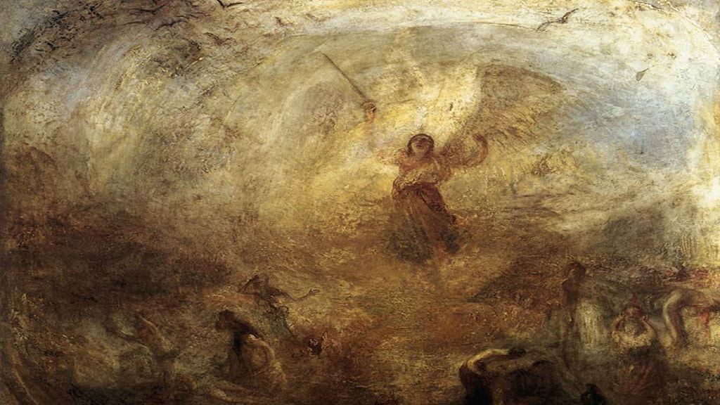 """The angel standing in the sun"". William Turner 1775-1851)."