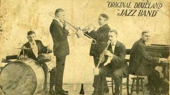 Första jazzskivan 100 år