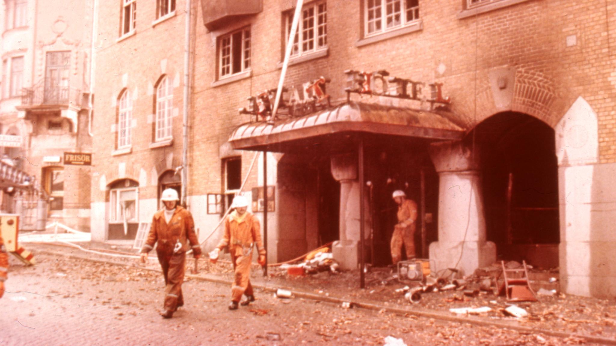 Brandkatastrofen på Borås stadshotell