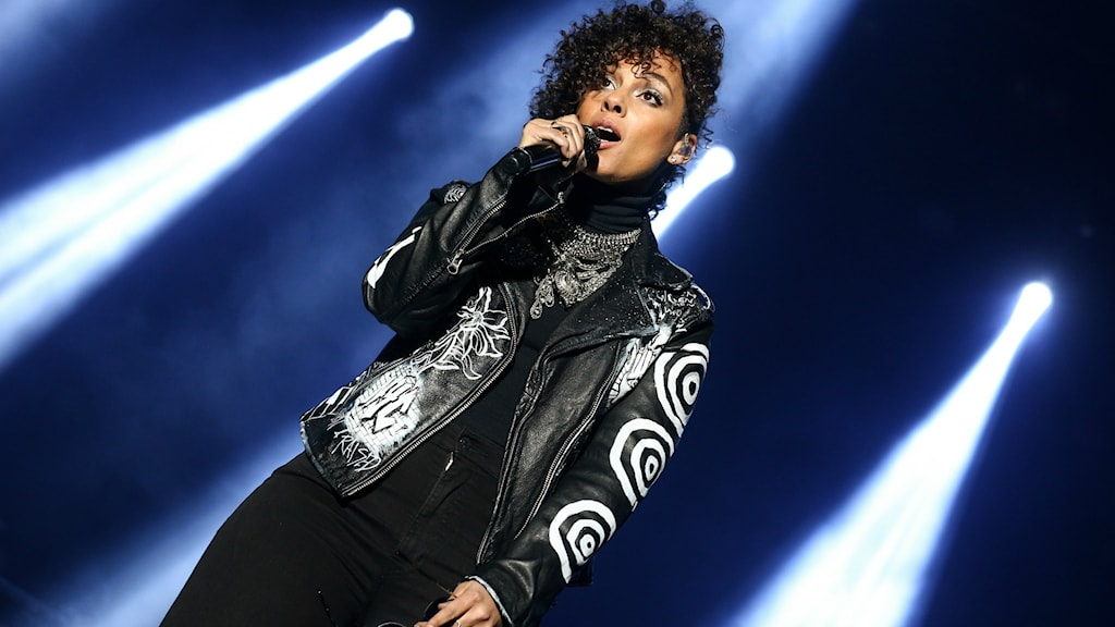 Alicia Keys på scen