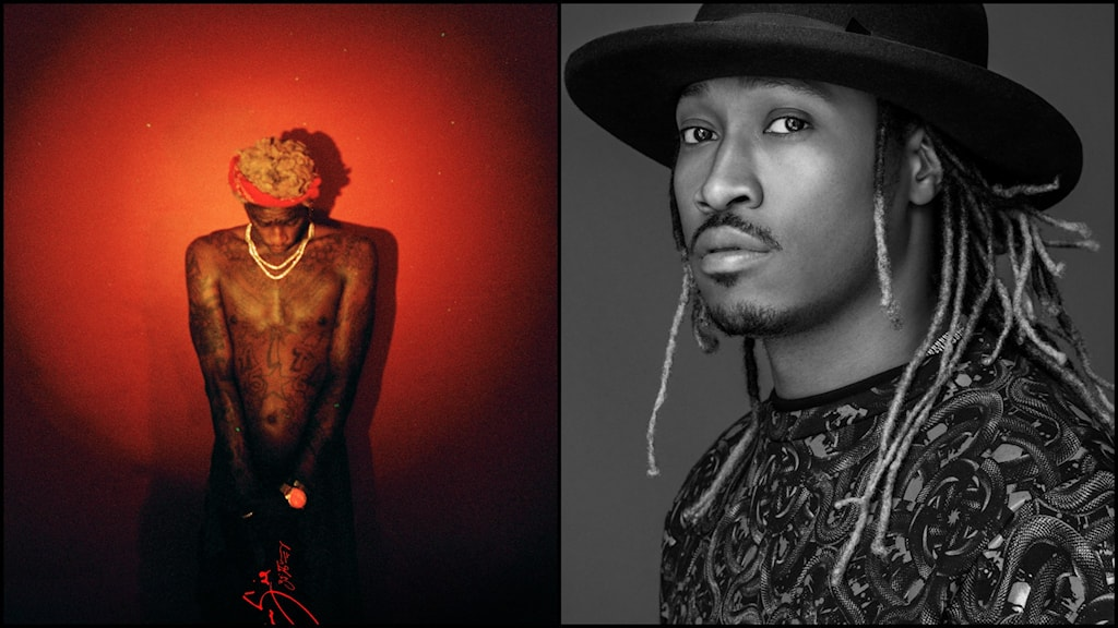 Pressbilder på Future och Young Thug. Foto: Pressbild/Atlantic Records