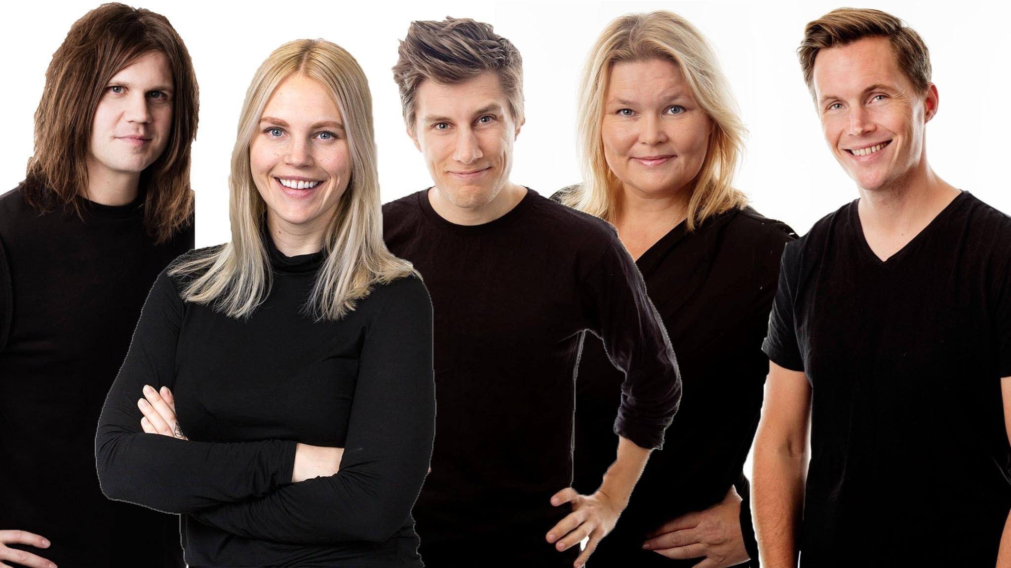 Med Robert Bendtlinder och Carolin Björnerhag - spela