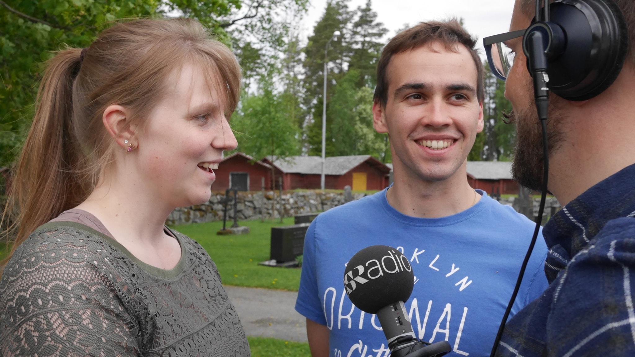 Tusen sjöar - två språk: Jannice Ratus & Sebastien Valtakari om jobb, bröllop  och Kalle Anka