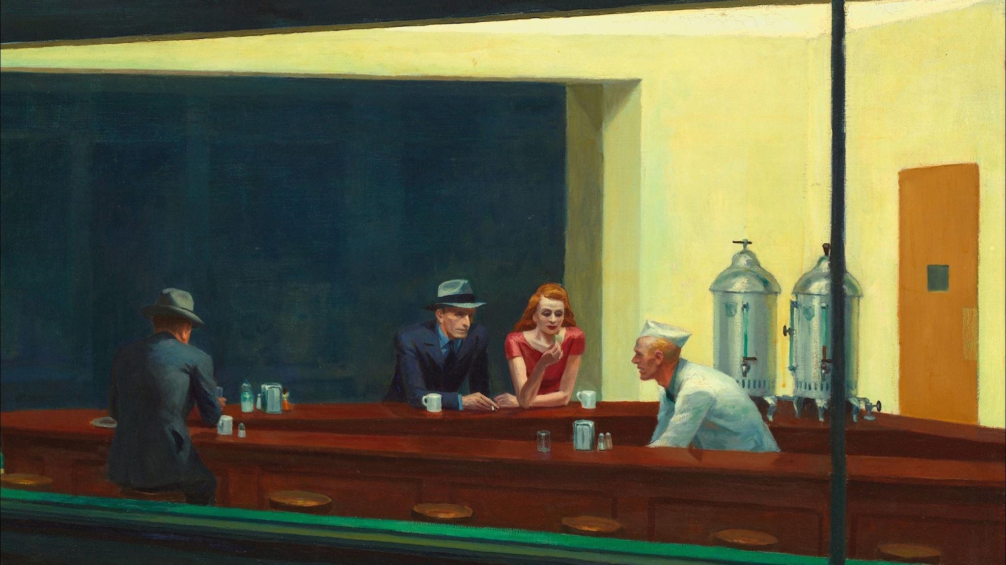 Edward Hopper – den urbana ensamhetens stilbildare