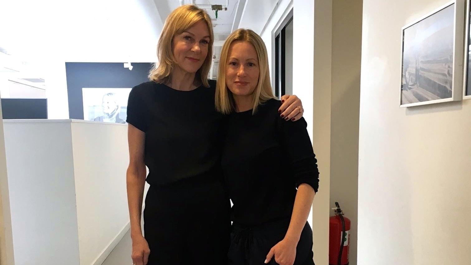 Susanne Ljung möter Filippa Knutsson