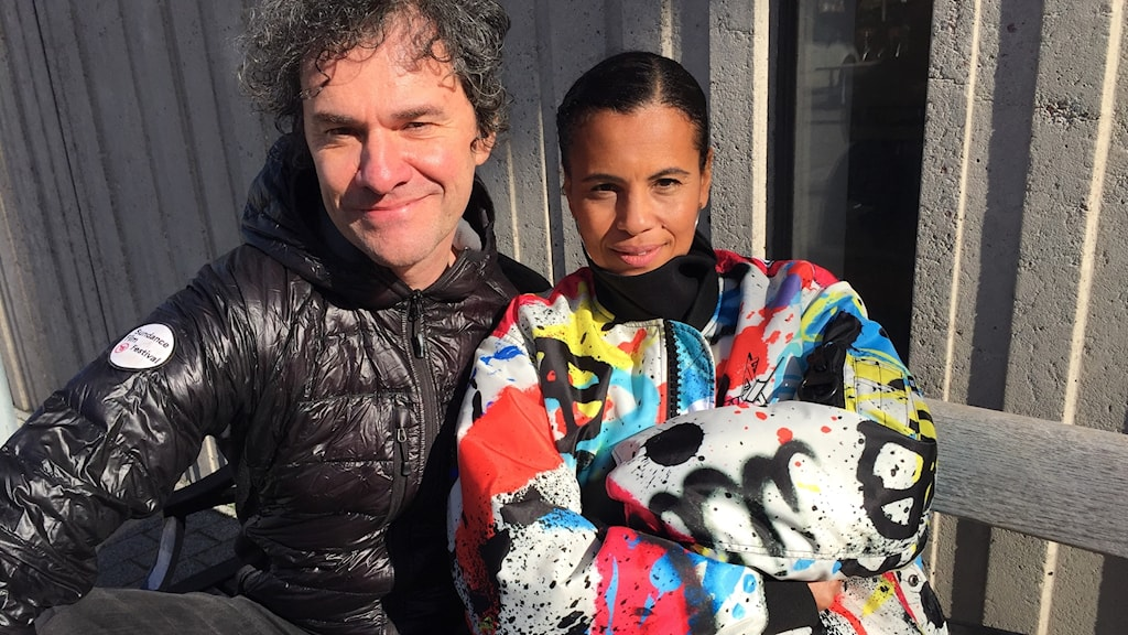 Mark Cousins och Neneh Cherry.