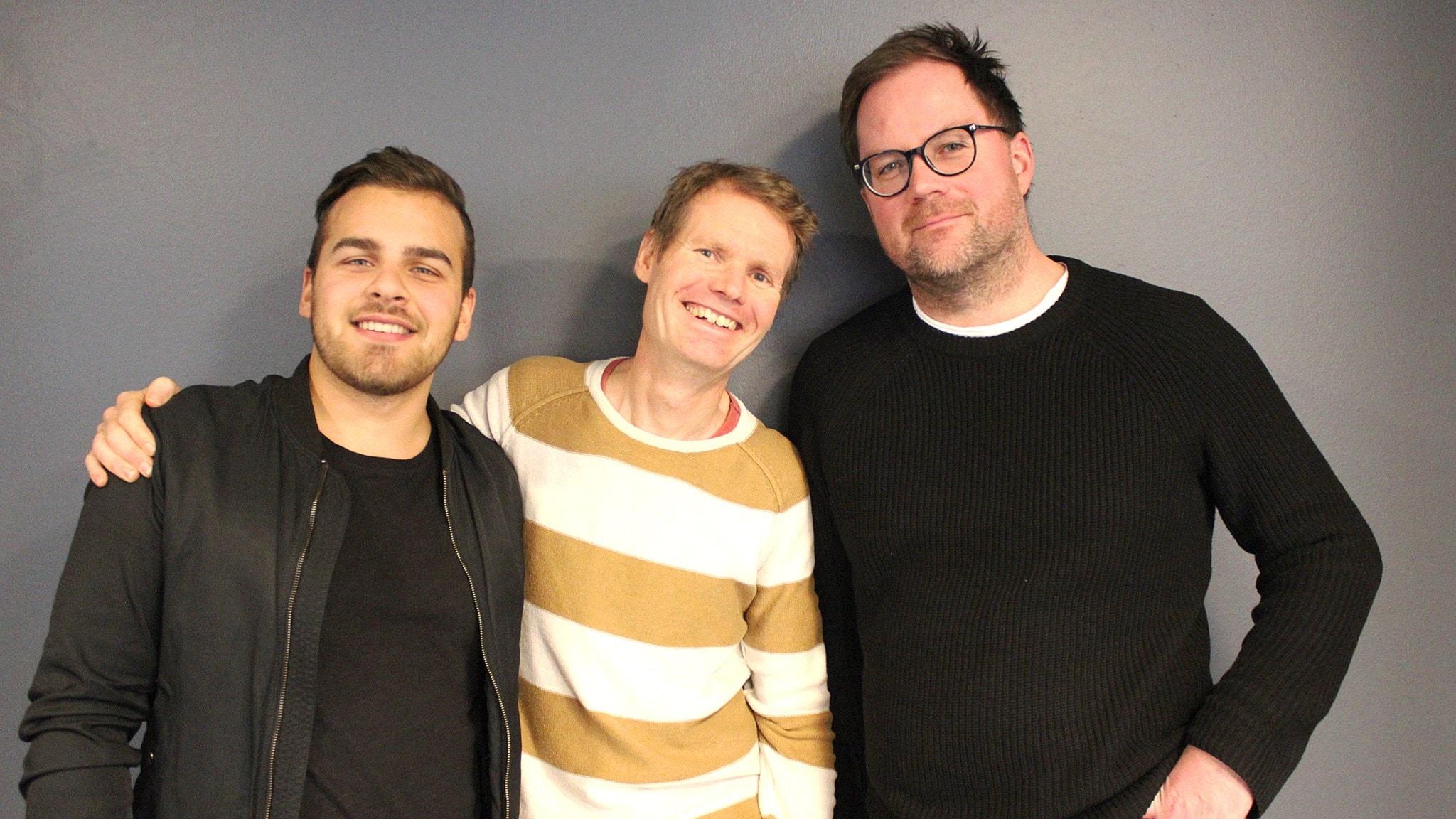 Med Marcus Gorne och Kim Kärnfalk