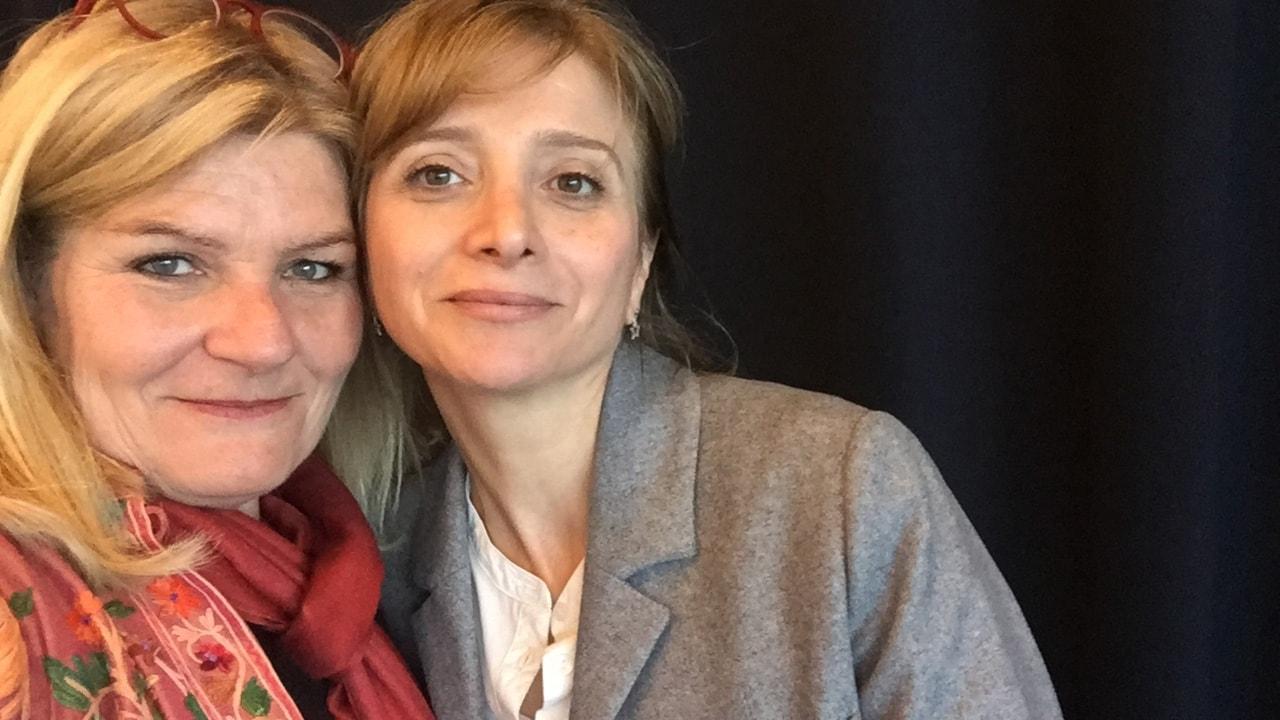 Cecilia Uddén möter författarna som satt ord på Syrienkriget