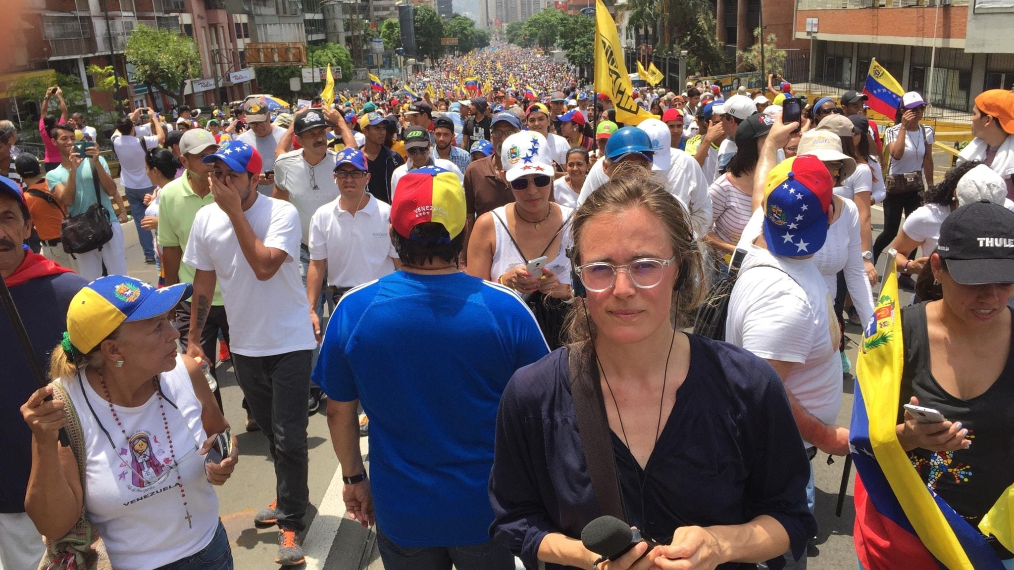 Lotten Collin i krisens Venezuela