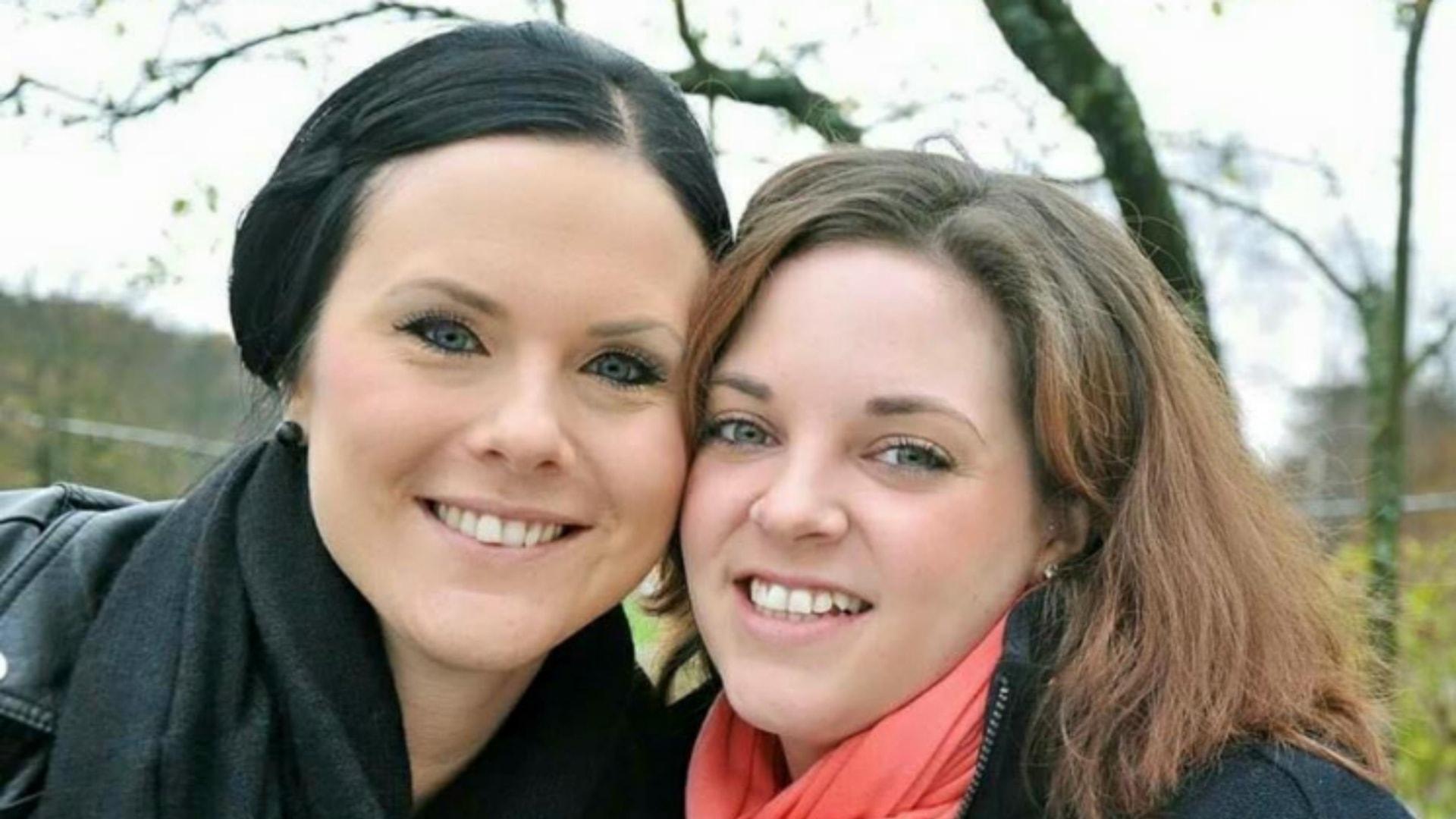 Kristin förenades med sin hemliga donator