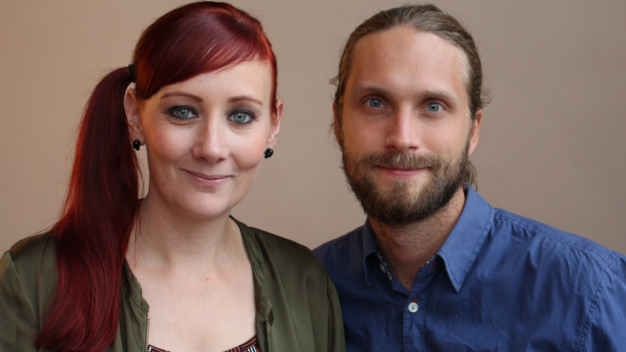 Med Petra Blomqvist och Niklas Clarkson