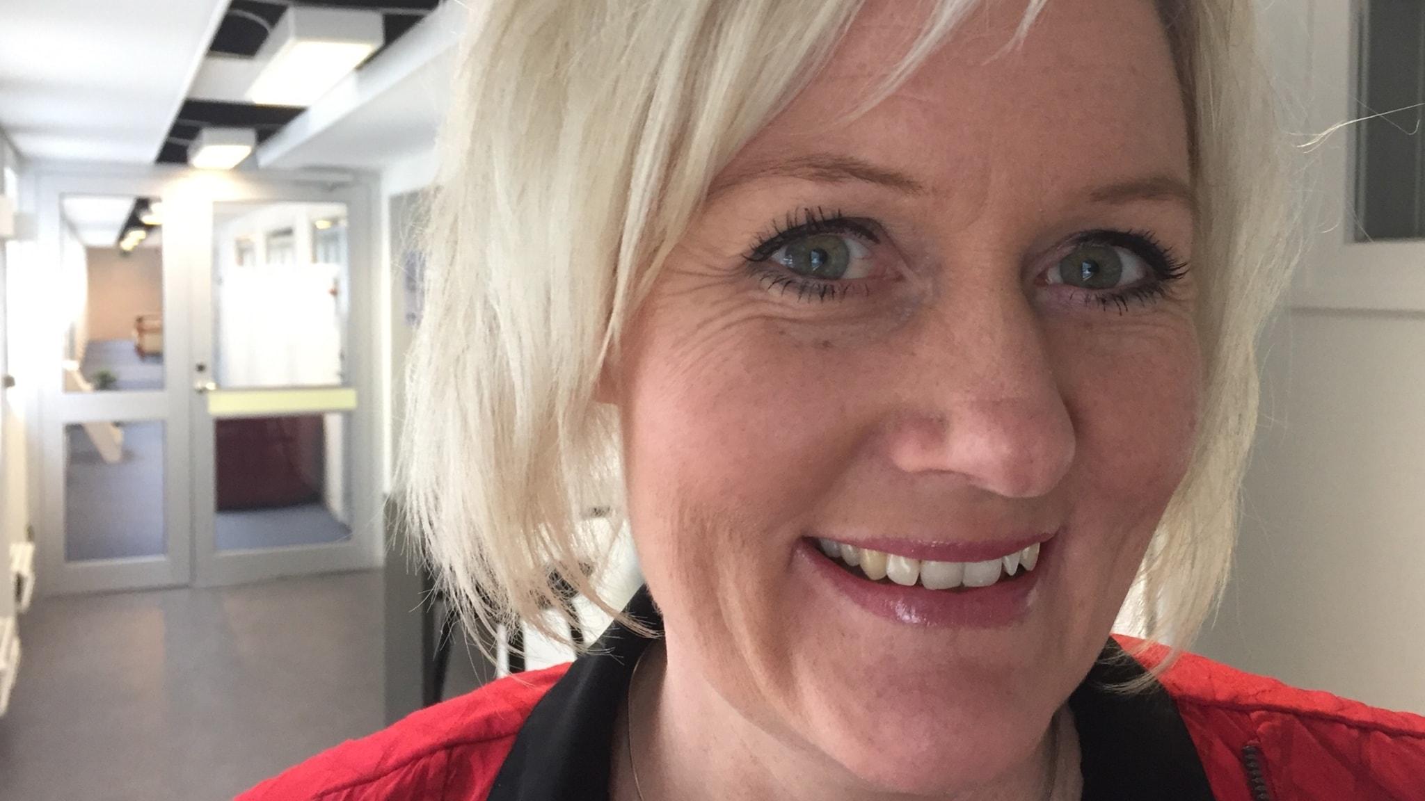 Ekots lördagsintervju med partisekreterare Lena Rådström Baastad (S)
