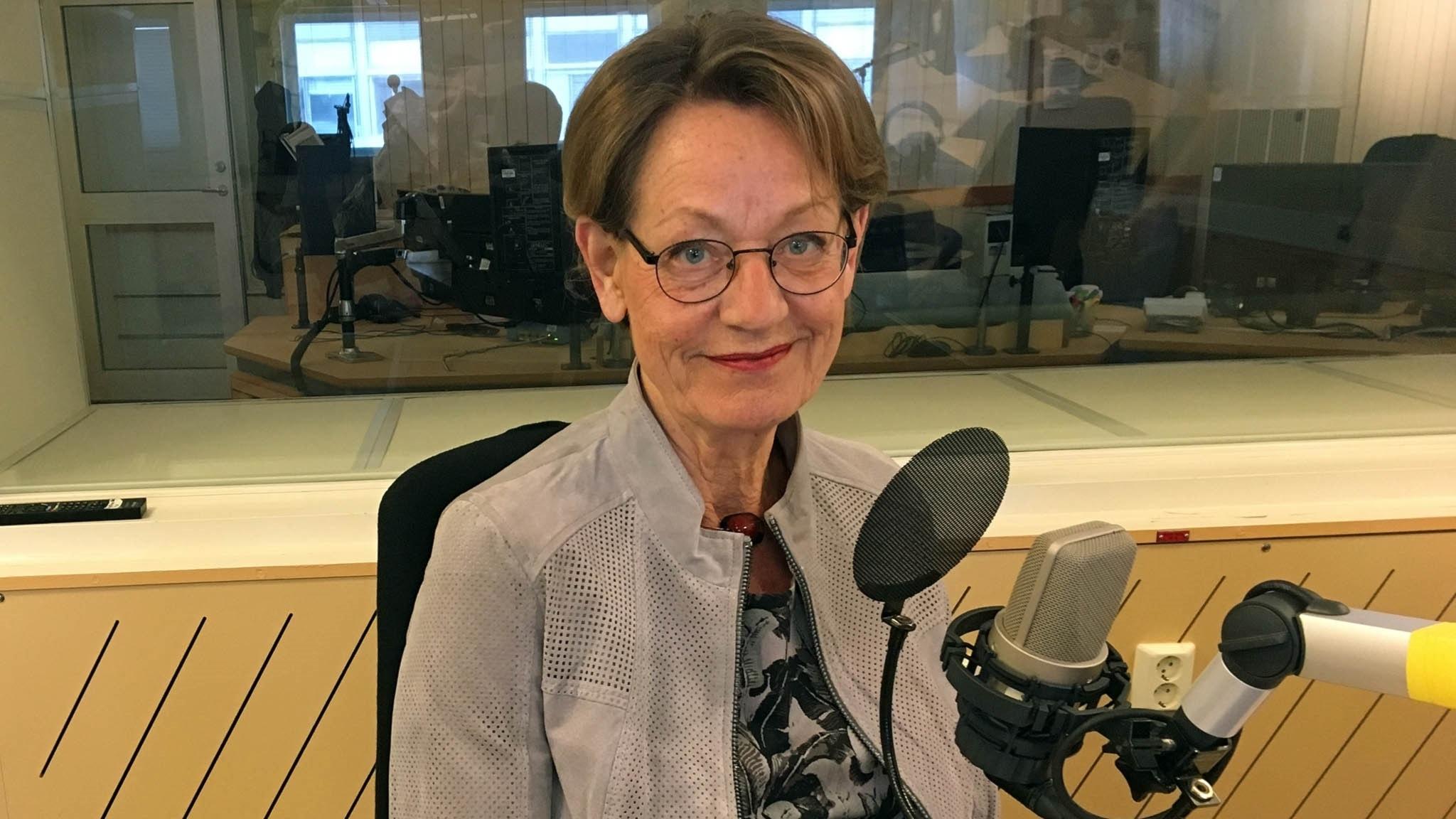 Ekots lördagsintervju med Gudrun Schyman (Fi)
