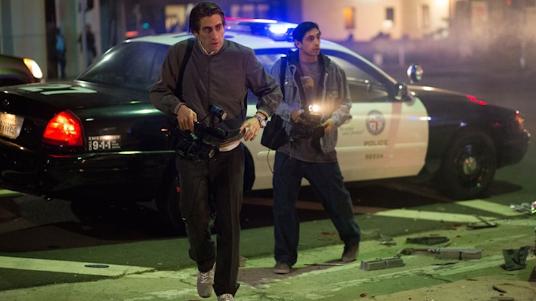 Jake Gyllenhaal i Nightcrawler. Foto: Noble Entertainment.