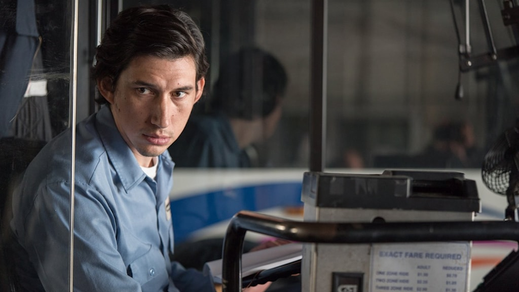 Adam Driver som Paterson. Foto: Scanbox Entertainment.