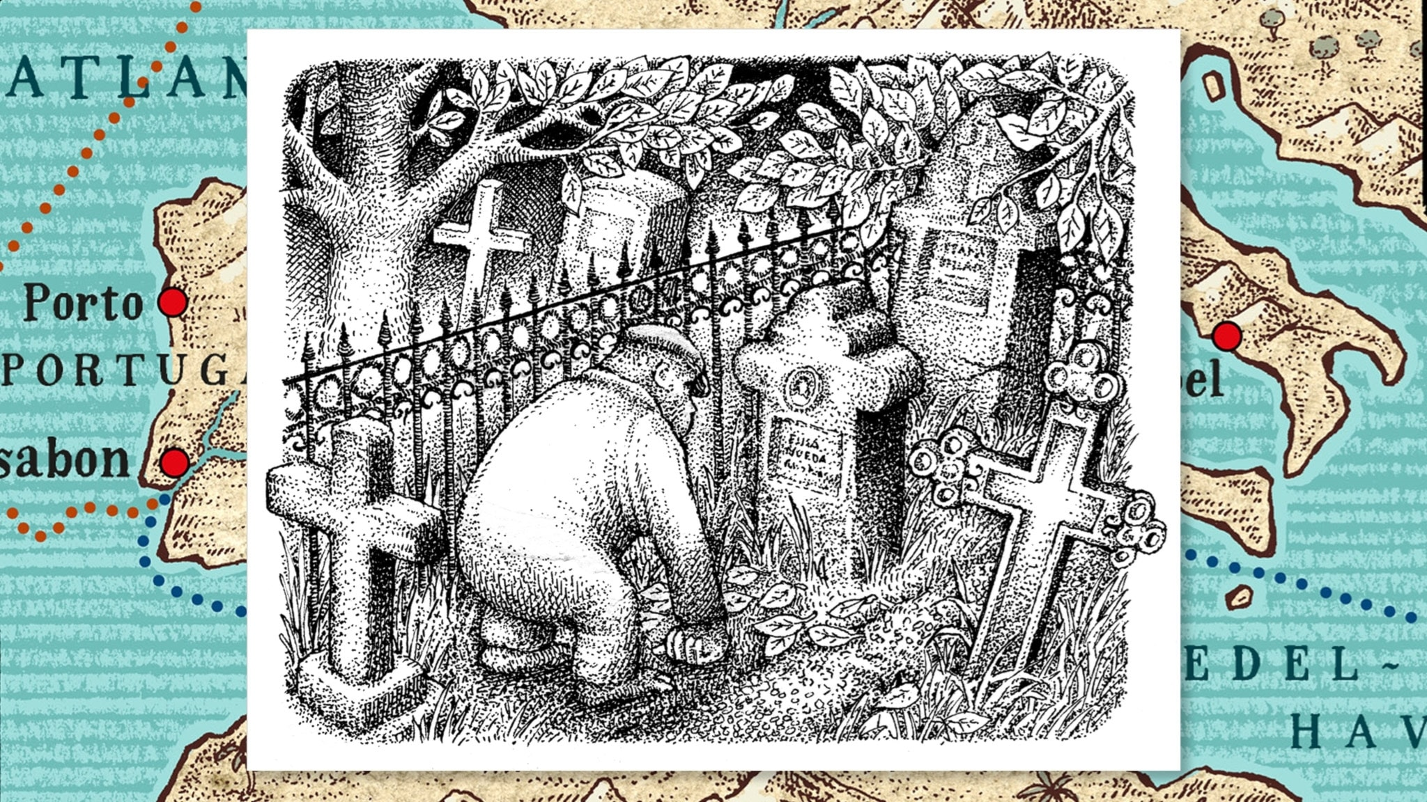 Mördarens apa del 3 av 10: Elisa Gomes grav