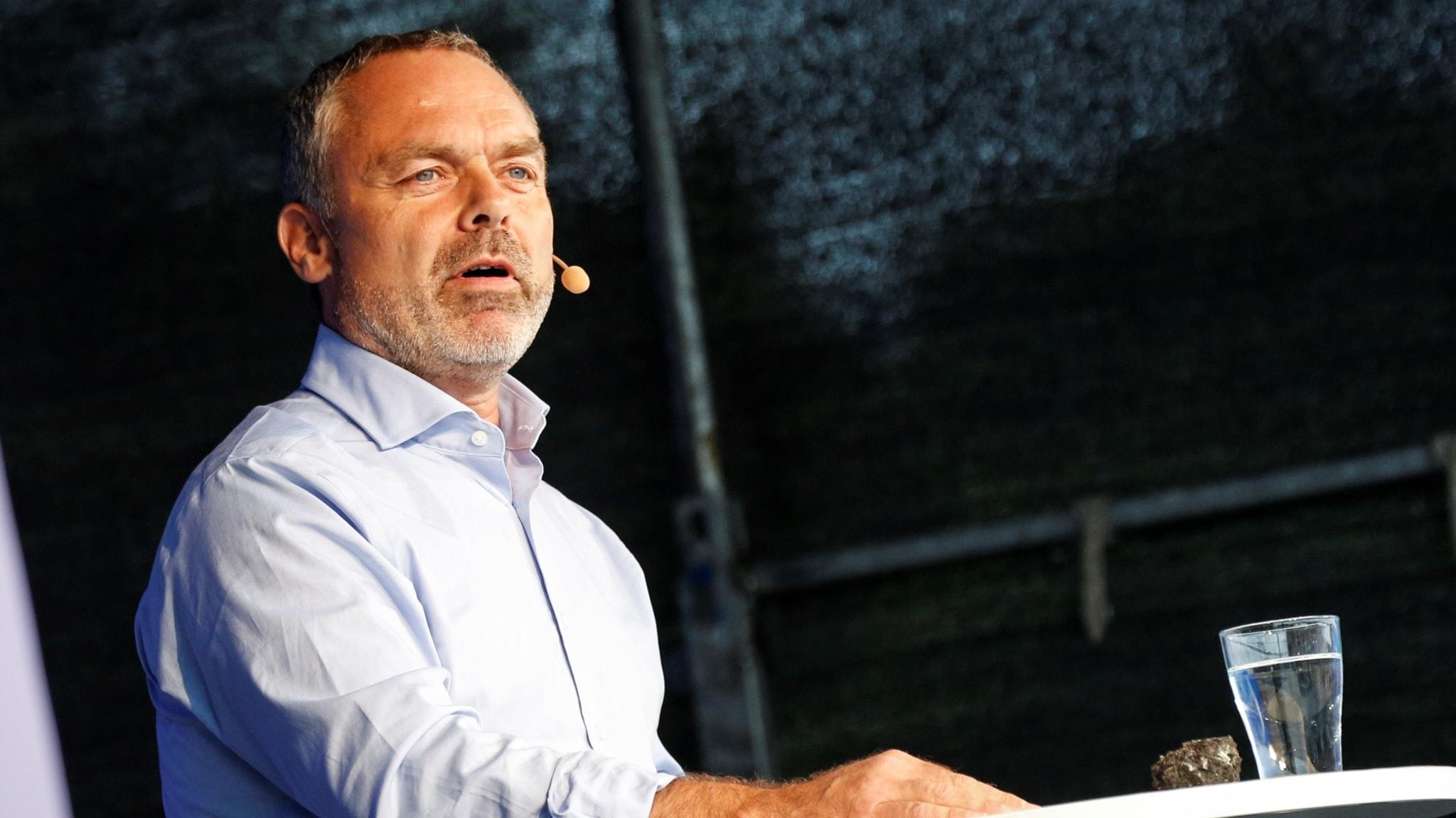 Jan Björklund (L) talar i Almedalen 2017