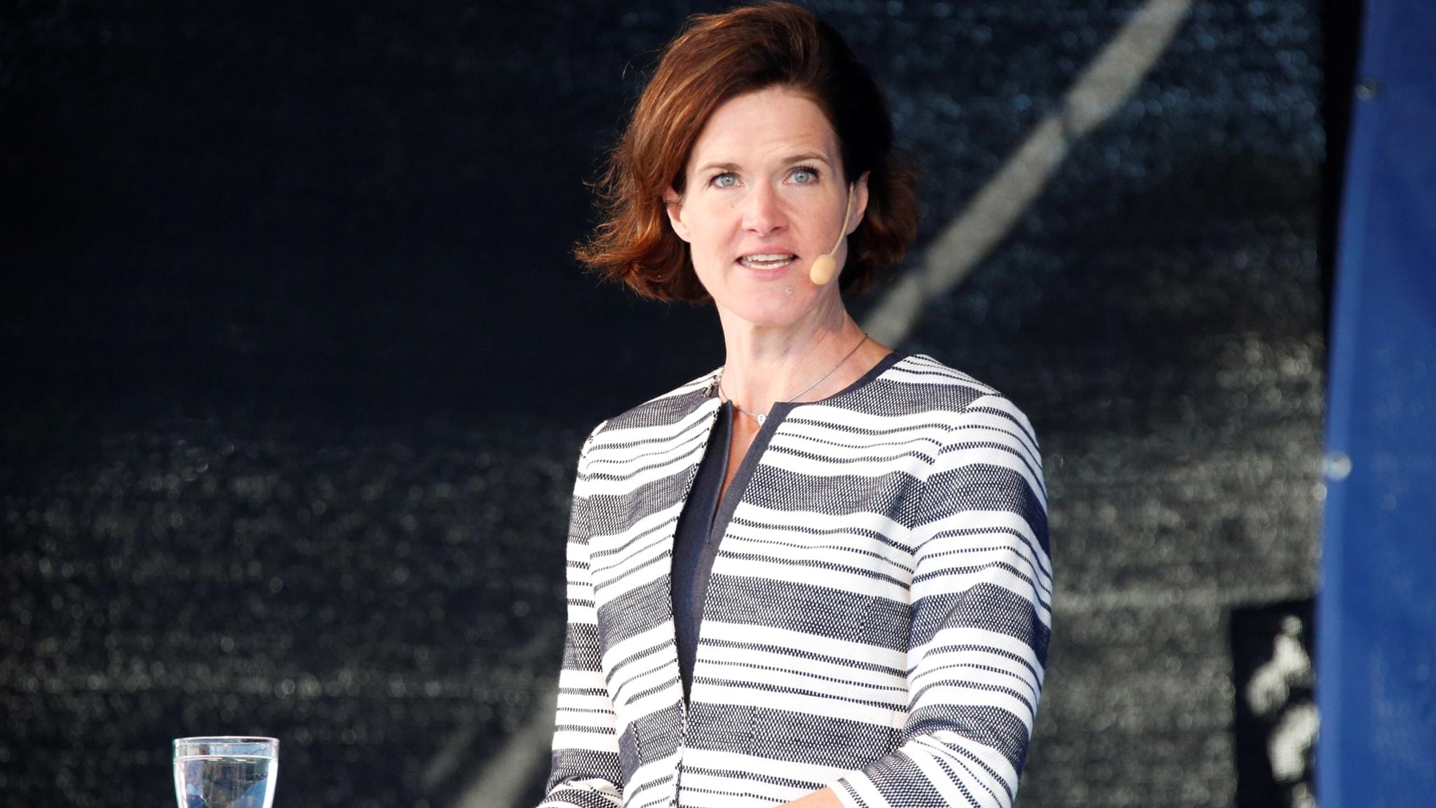 Anna Kinberg Batra (M) talar i Almedalen 2017