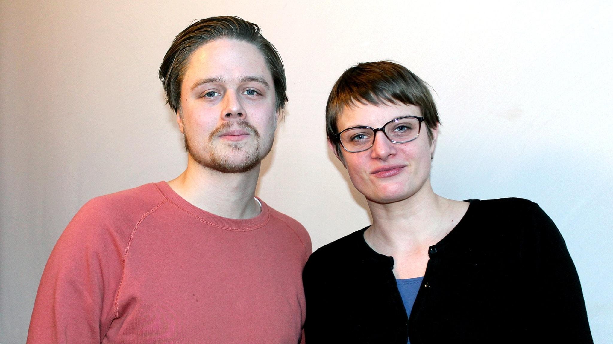 Med Bosse Pettersson och Perra Johansson