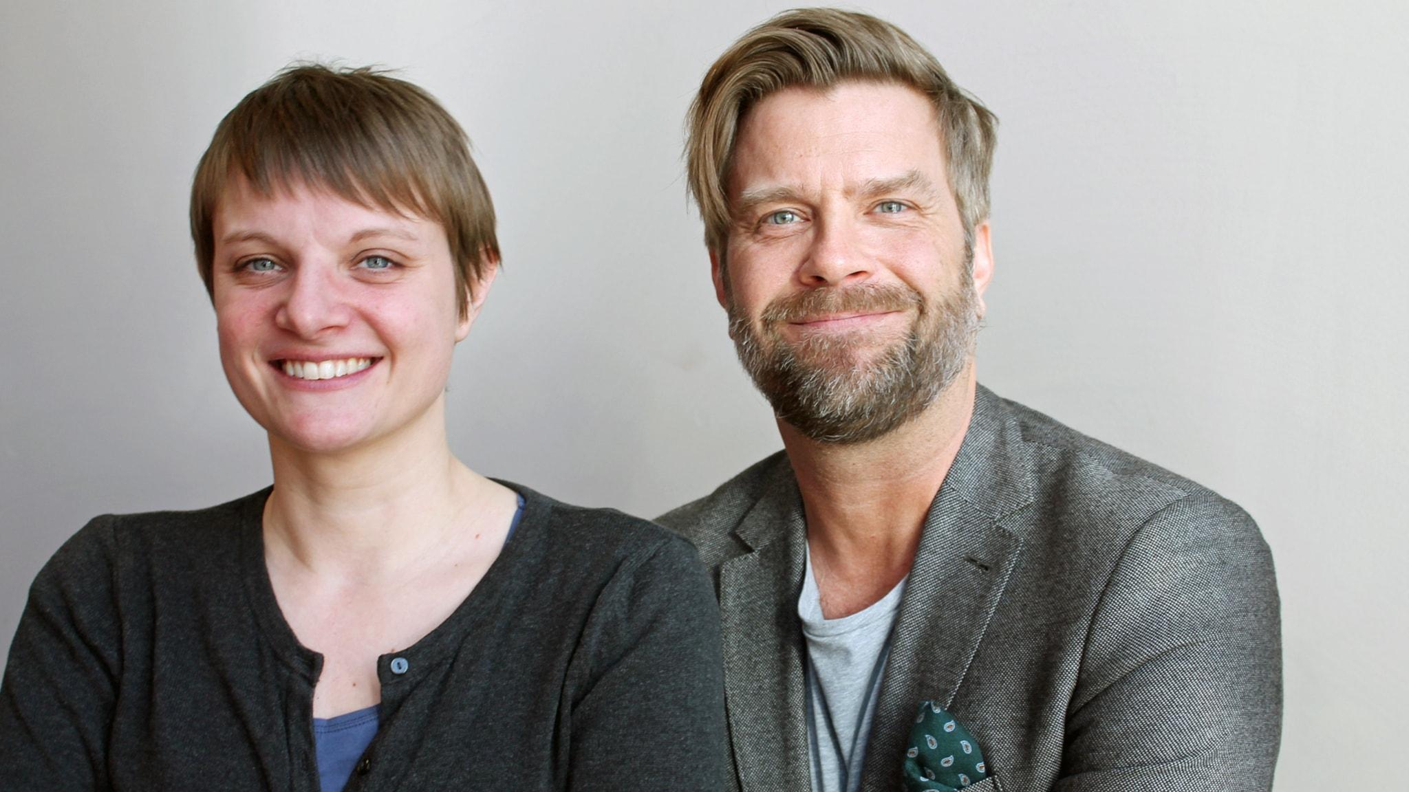 Med Åsa Wistedt och Bosse Pettersson