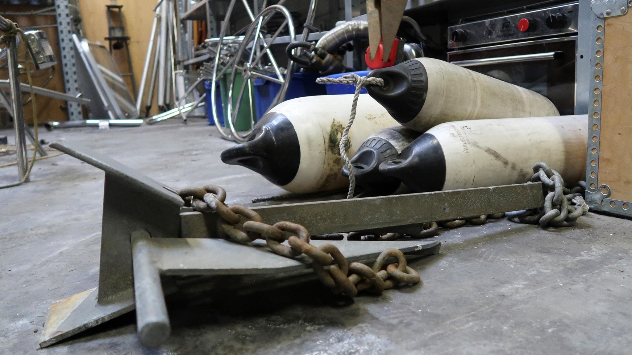 Skrotbåtar, elmotorer och insjösegling