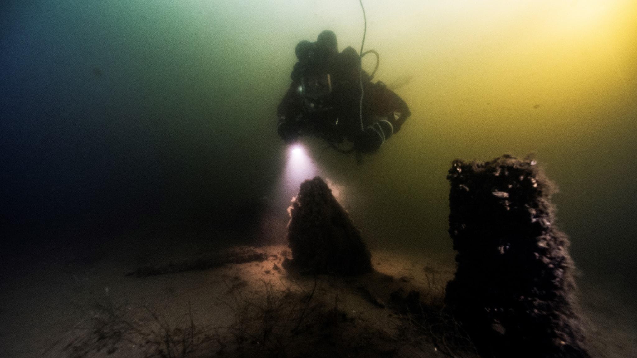 Dykare hittade krigsfartyg från 1600-talet