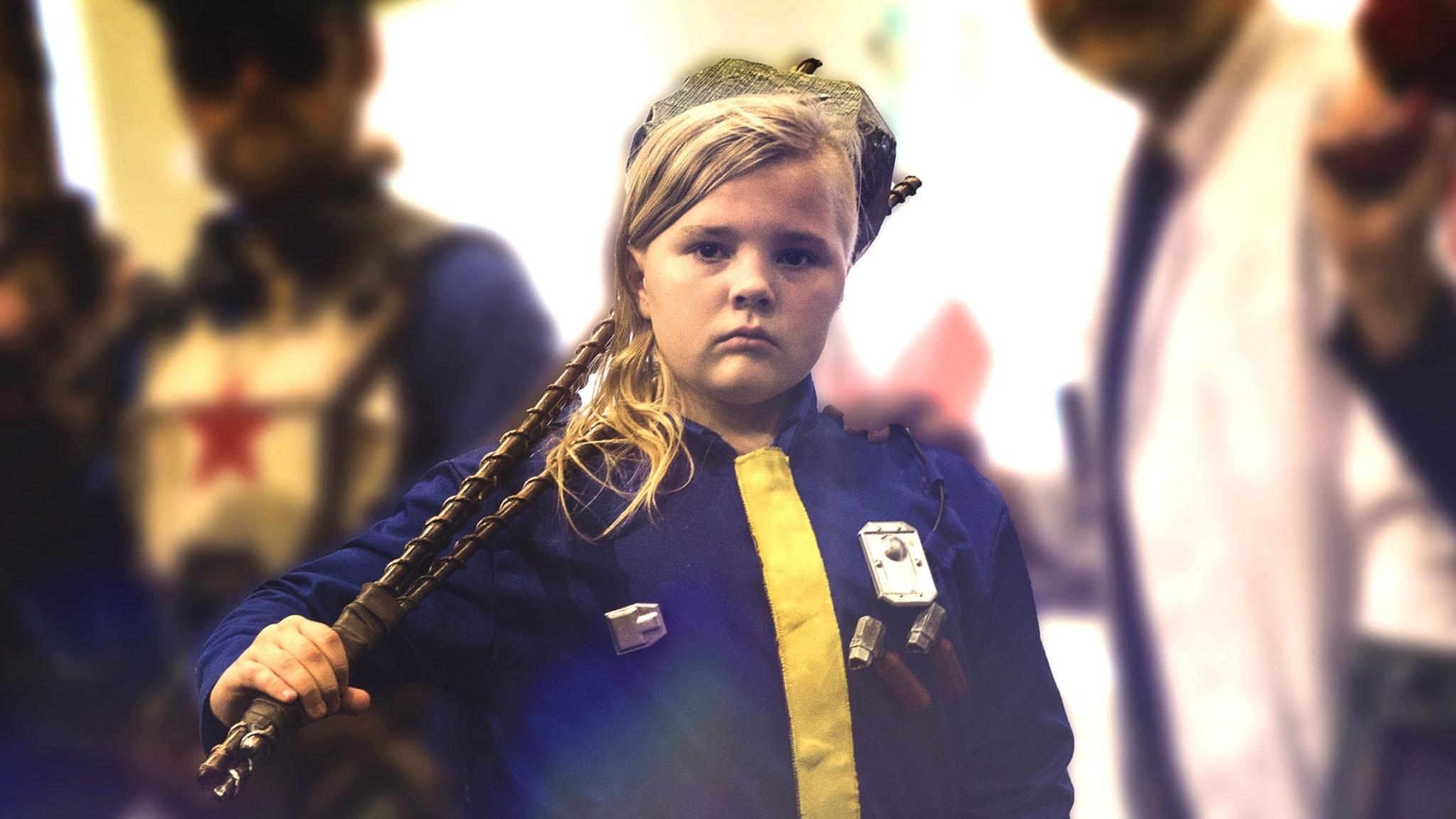 Cosplay-trenden växer – tolvårige Gustav tävlar med sin egen kostym