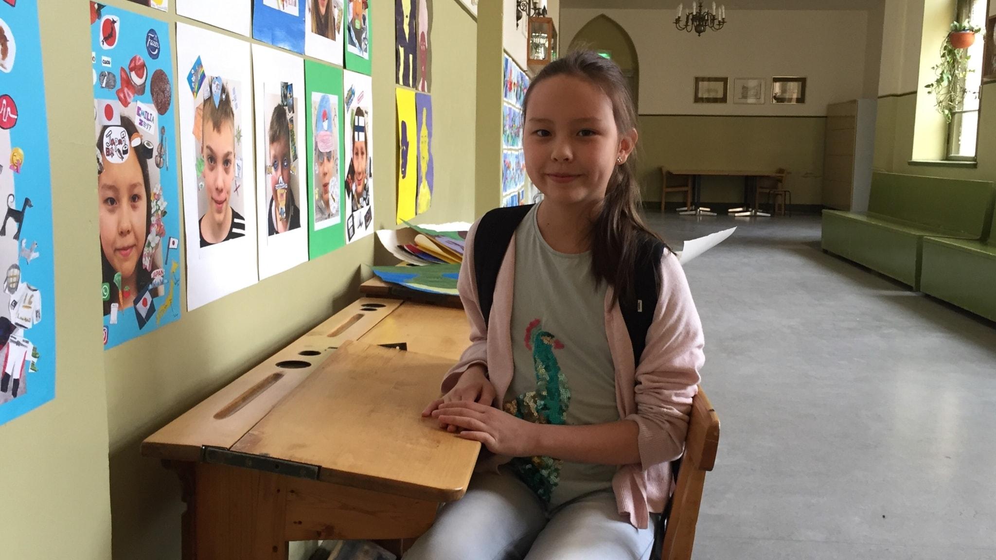 Skolan i Finland får mycket beröm- Emilia berättar hur det är att gå i sexan