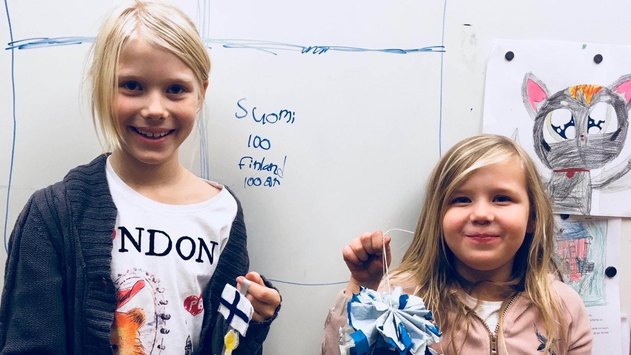 Leialle ja Irikselle Suomi merkitsee iloa