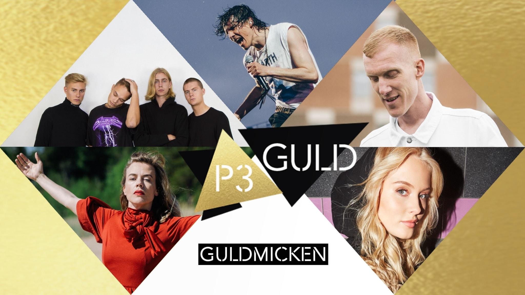 Guldmickens jury motiverar sina P3 Guld-nomineringar