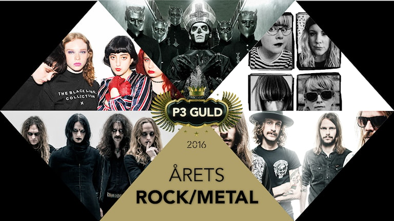 Årets rock/metal 2016