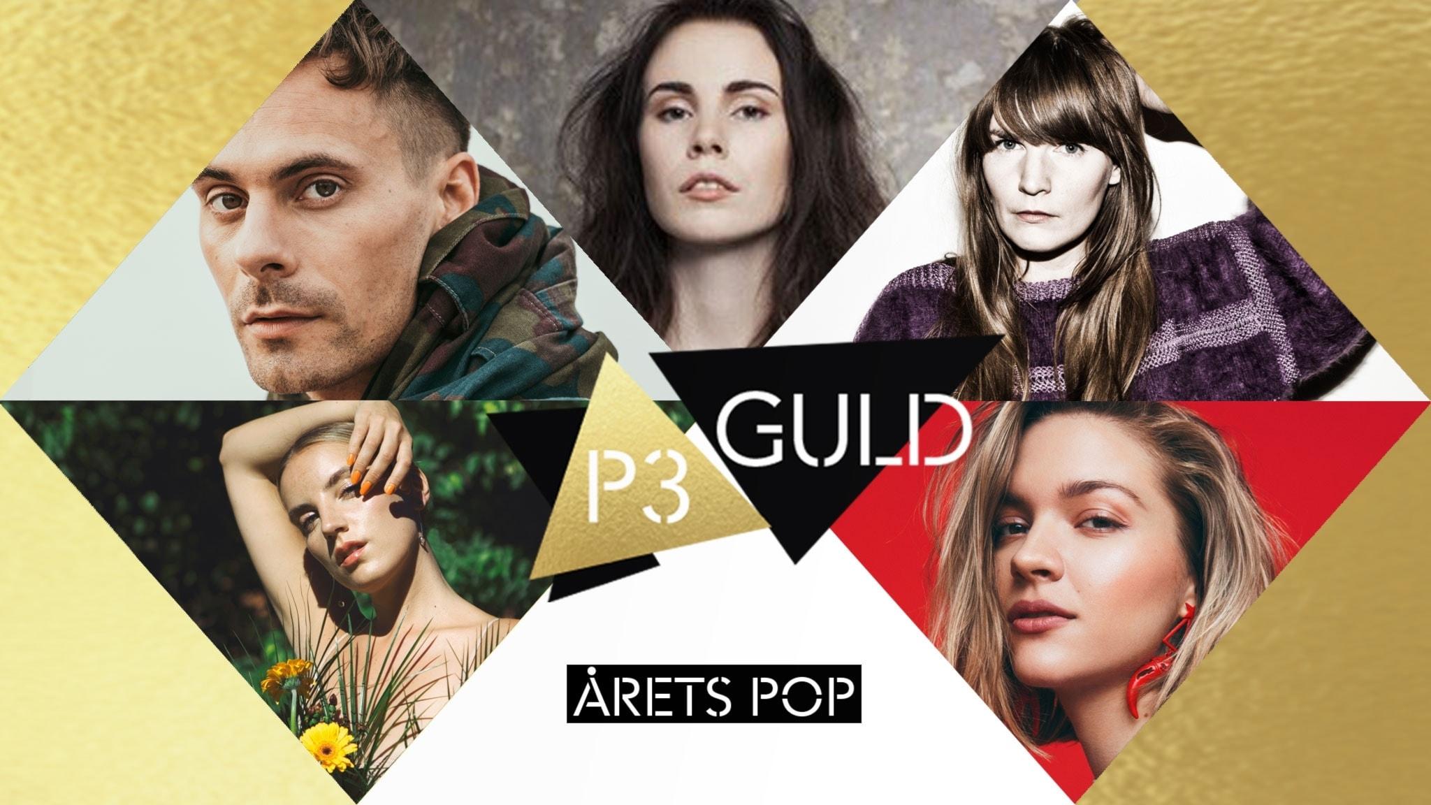 Pop- och rock/metal-juryn motiverar sina P3 Guld-nomineringar