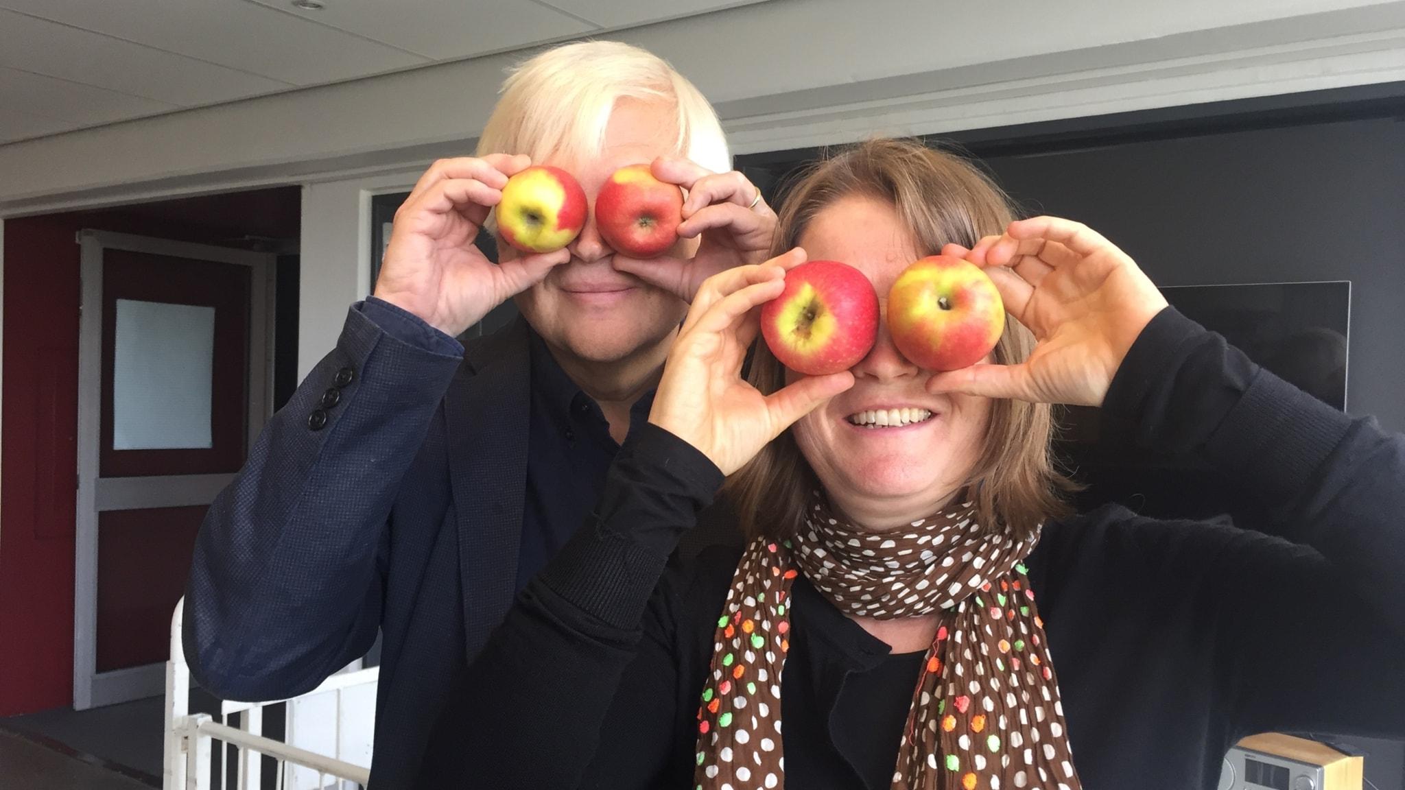 Gud gjorde ej gröna små äpplen...