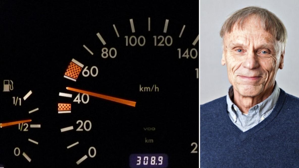 Vi fartsyndar eftersom hjärnan inte förstår hastighetsmätaren - Vetenskapsradion