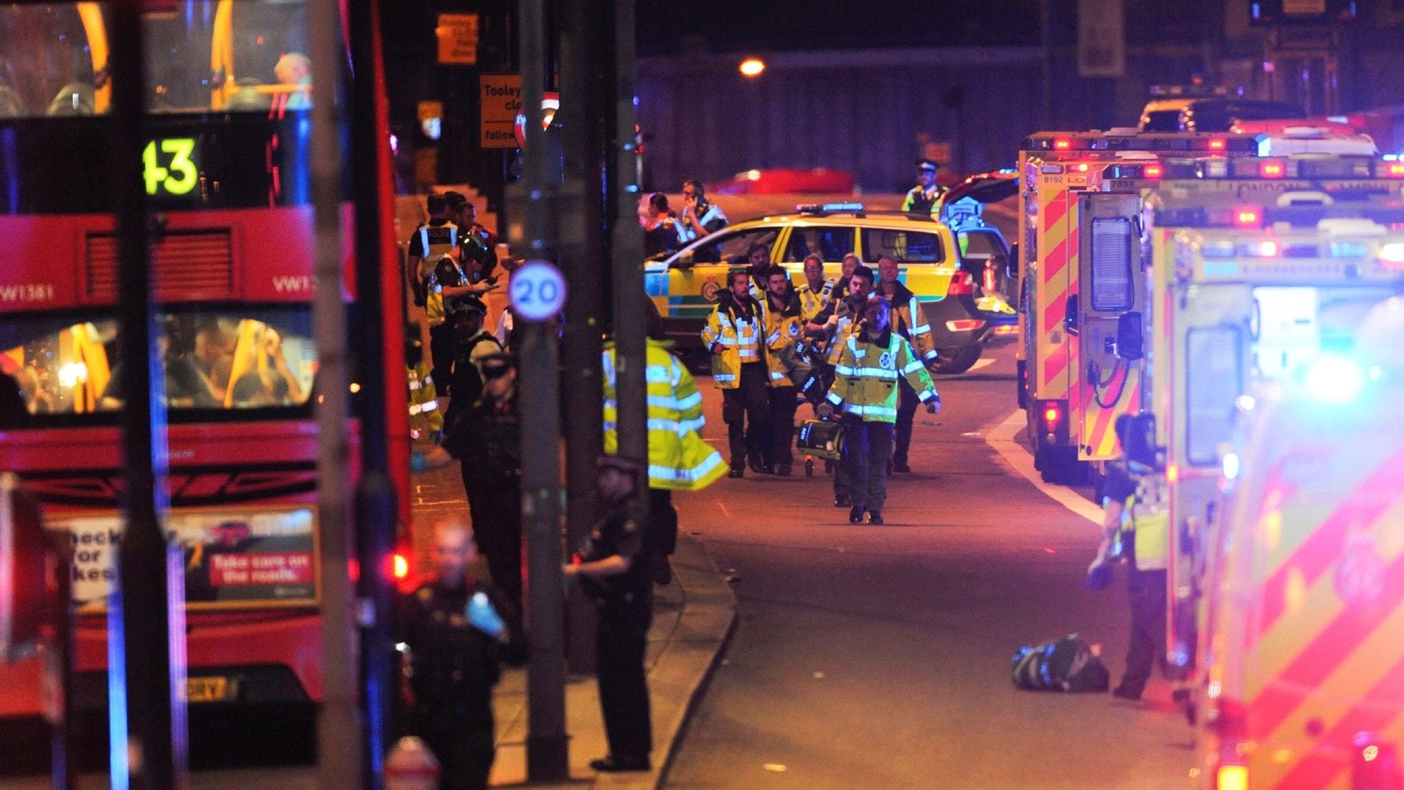 Extrasändning med anledning av dådet i London och One Love Manchester