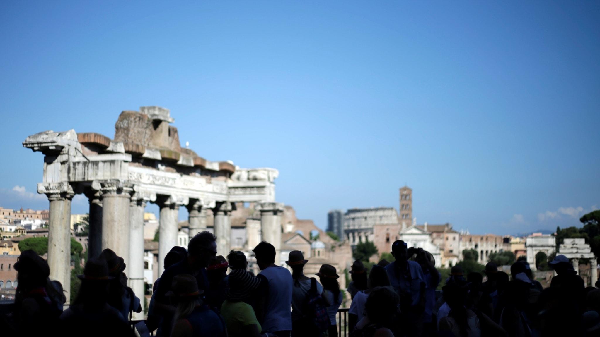 Se Rom med världens äldsta guidebok