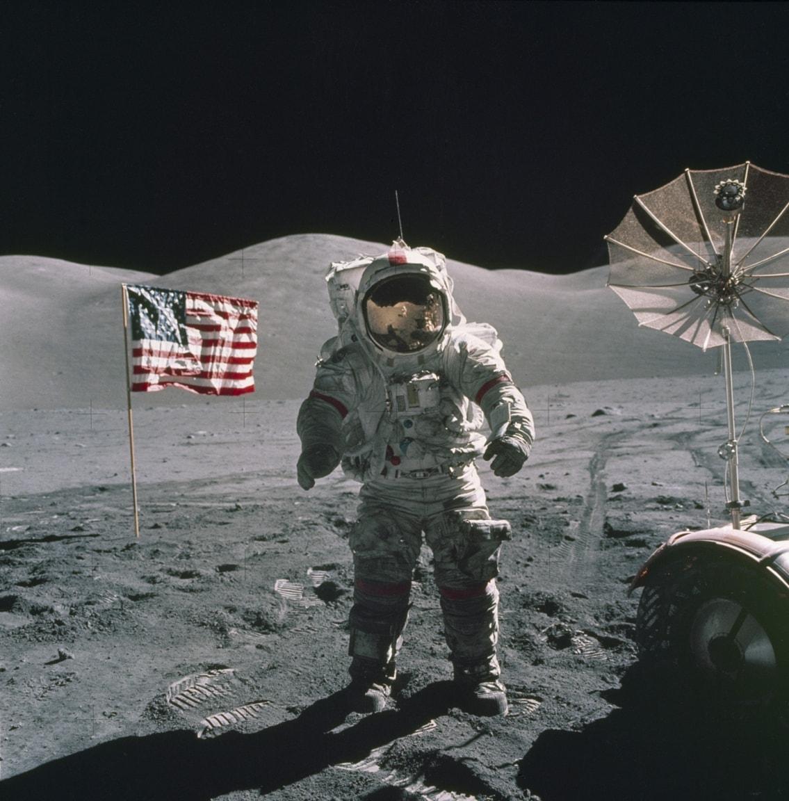 Gruvor på Månen bryter mot historiskt fördrag