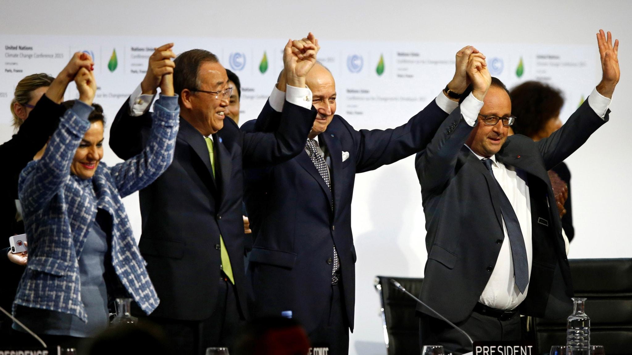 Klimatavtalet som står på spel