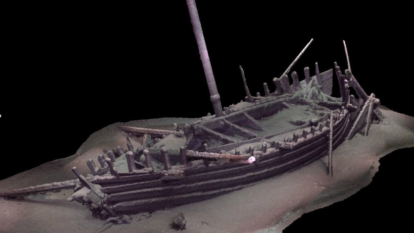 Antika fartyg funna på Svarta havets botten