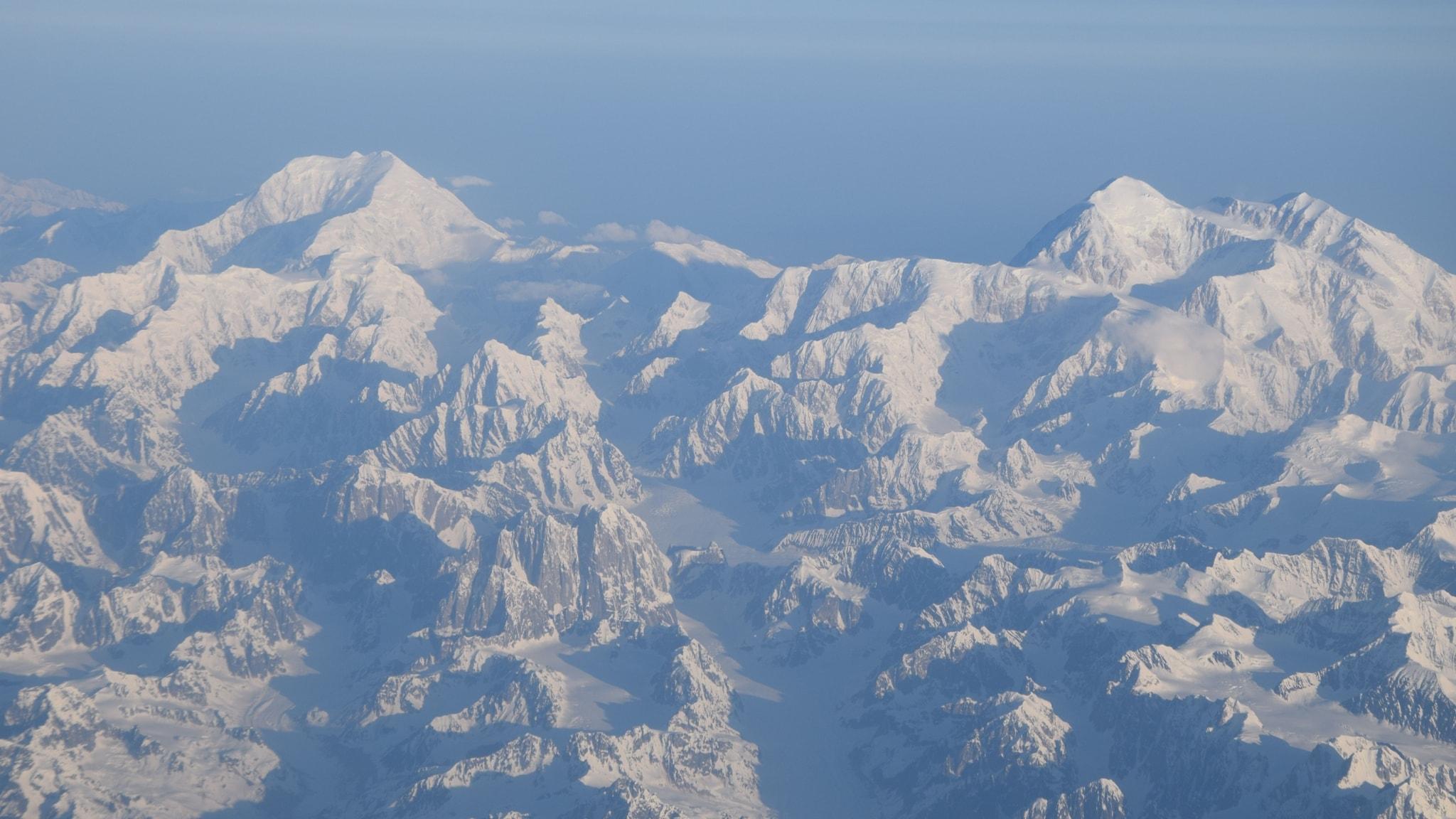 Tinande permafrost sänker Alaska (R)