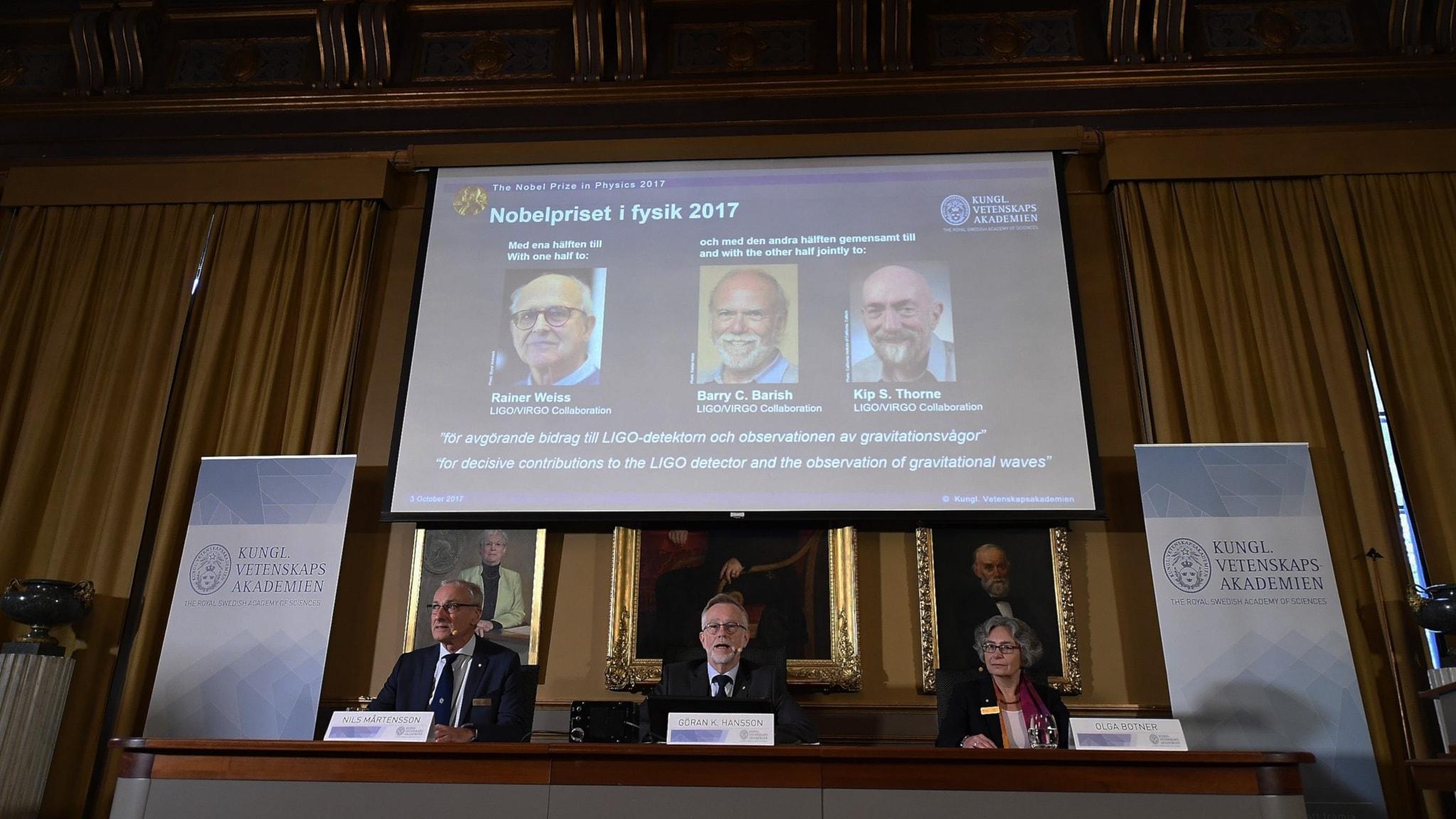 Nobelprisansvarig själv missnöjd med gubbdominansen