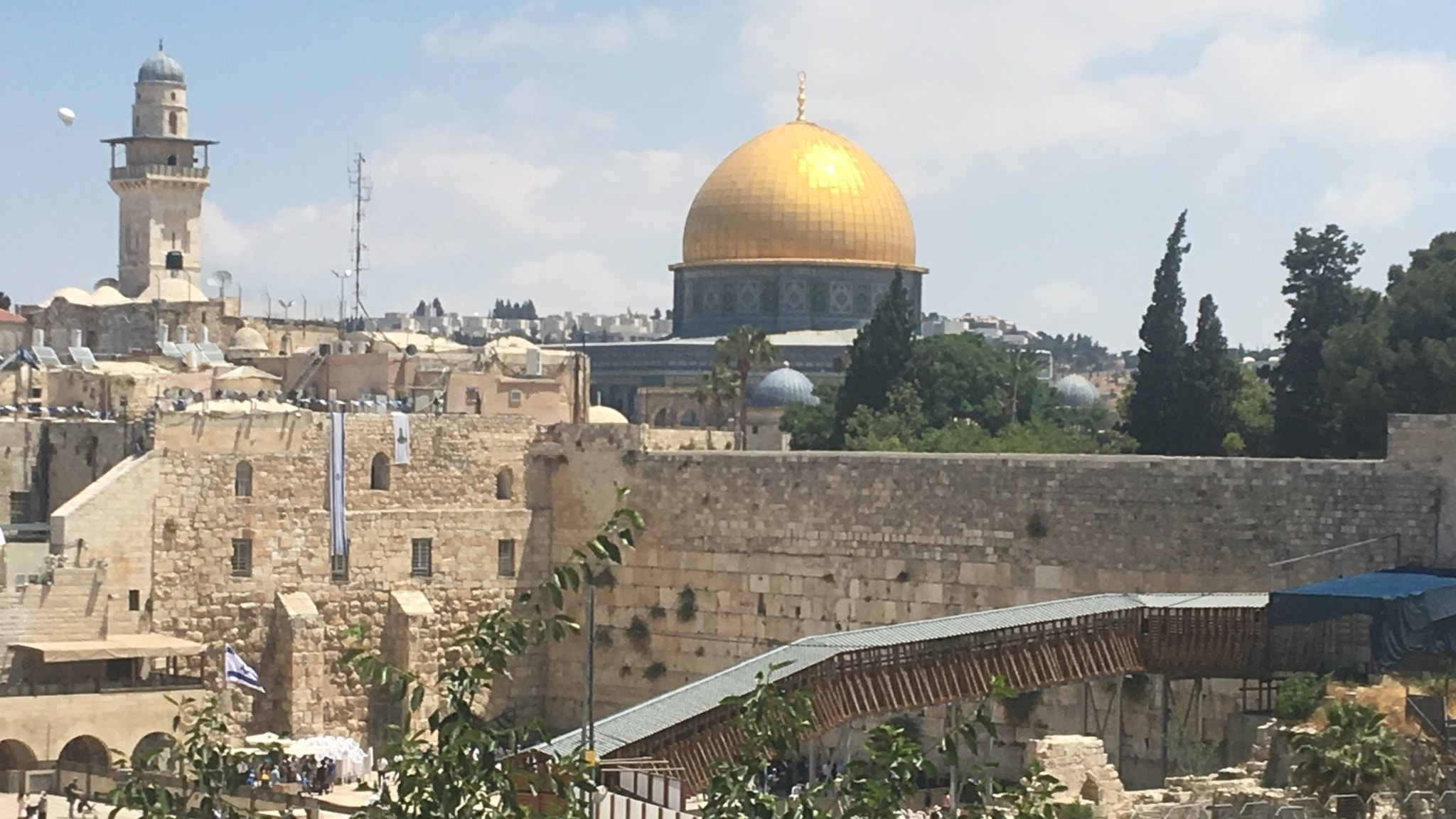 Religionens betydelse för Tempelbergskonflikten