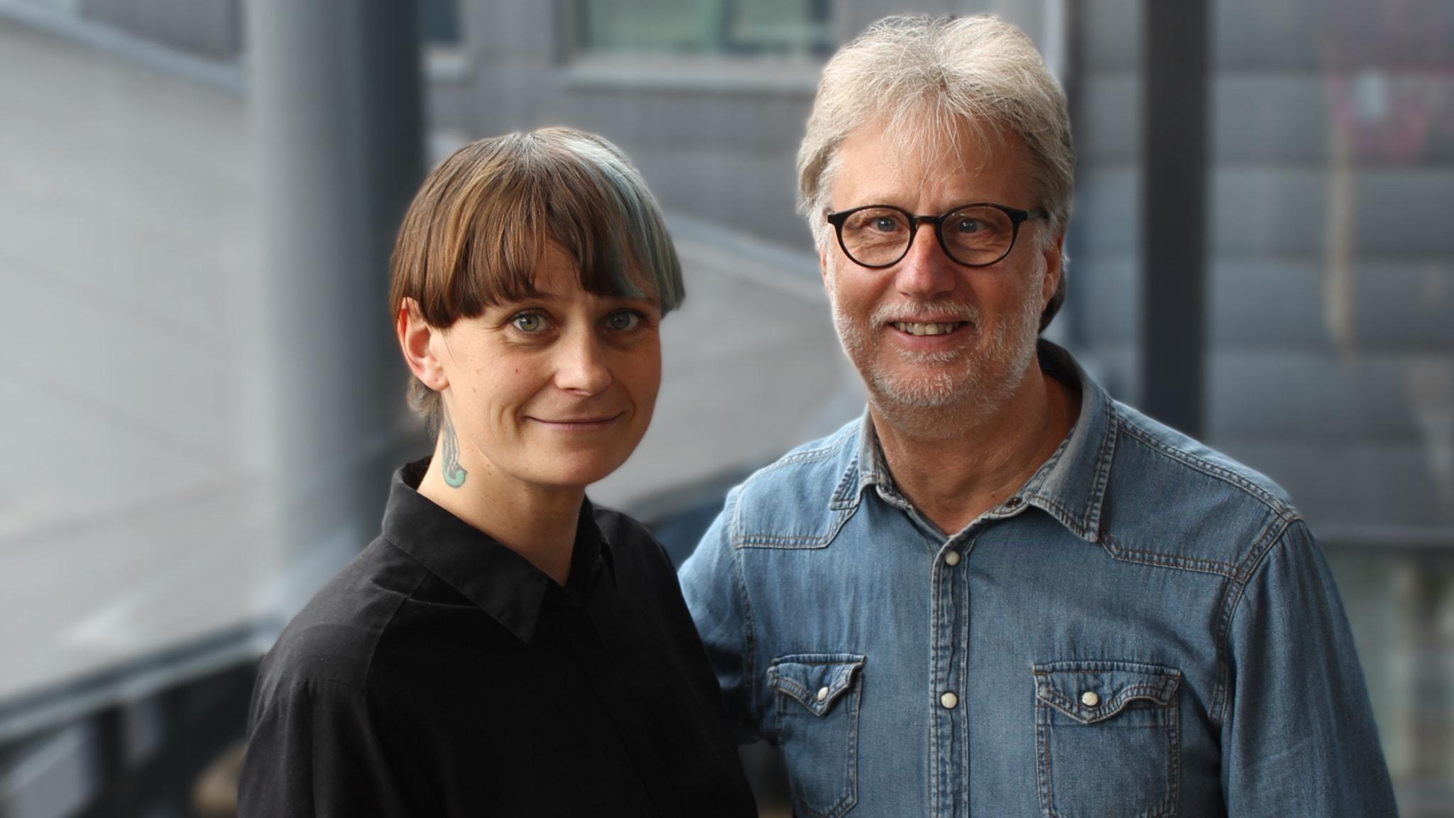 Med Lovisa Fischerström och Karin Forsmark