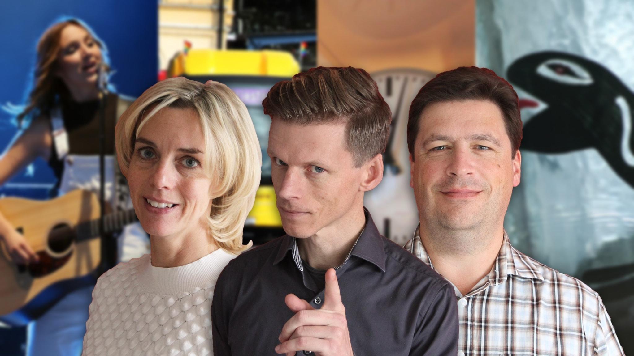 Med Magnus Krusell och Emma Sandebäck