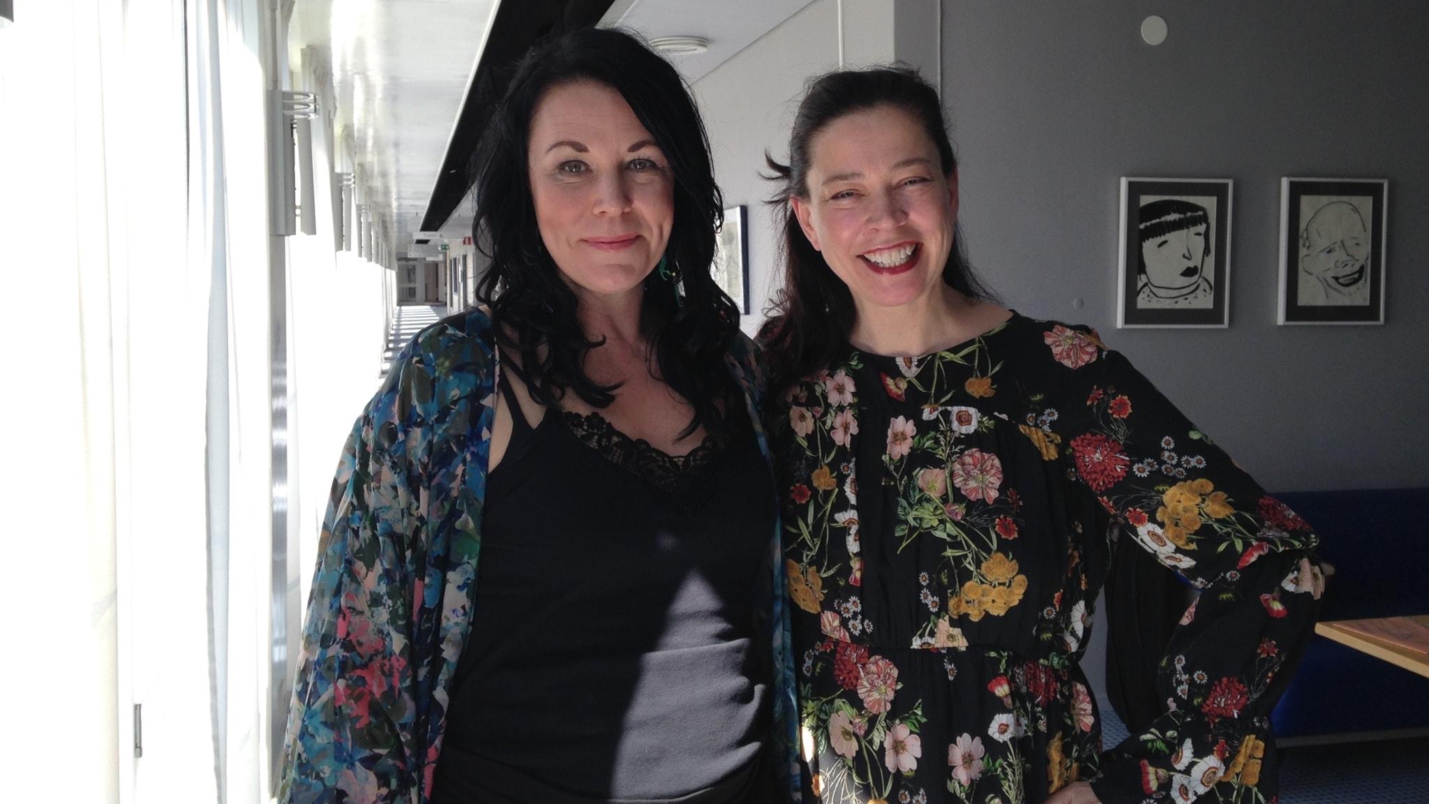 Vi är tillbaka! Och det är också Maria Sveland och Barbro Hörberg.