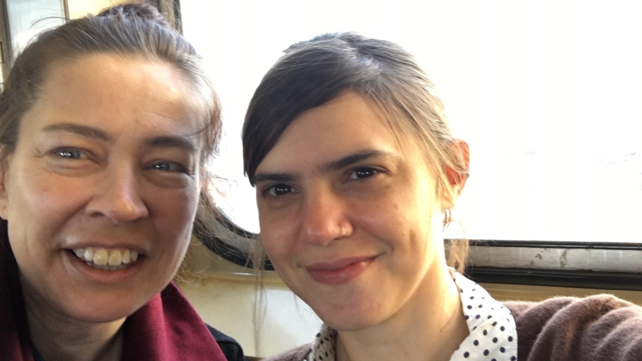 I New York med Valeria Luiselli och Emily Fridlund