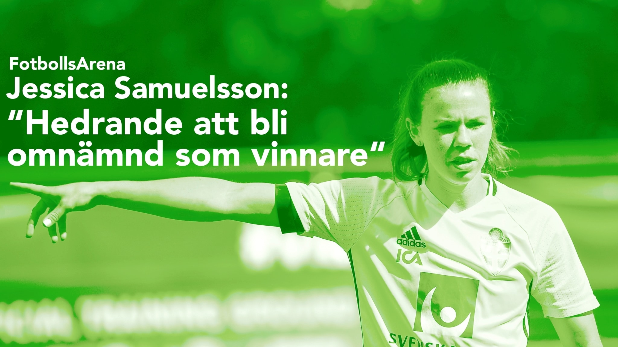 Jessica Samuelsson kan bli diamantbollen-vinnare