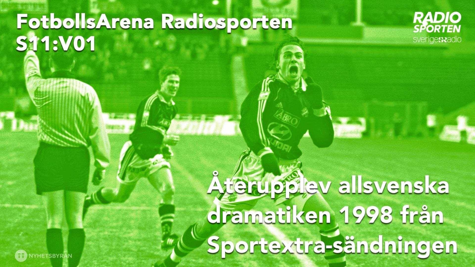 Specialavsnitt: Sportextra med allsvenskt drama från 1998