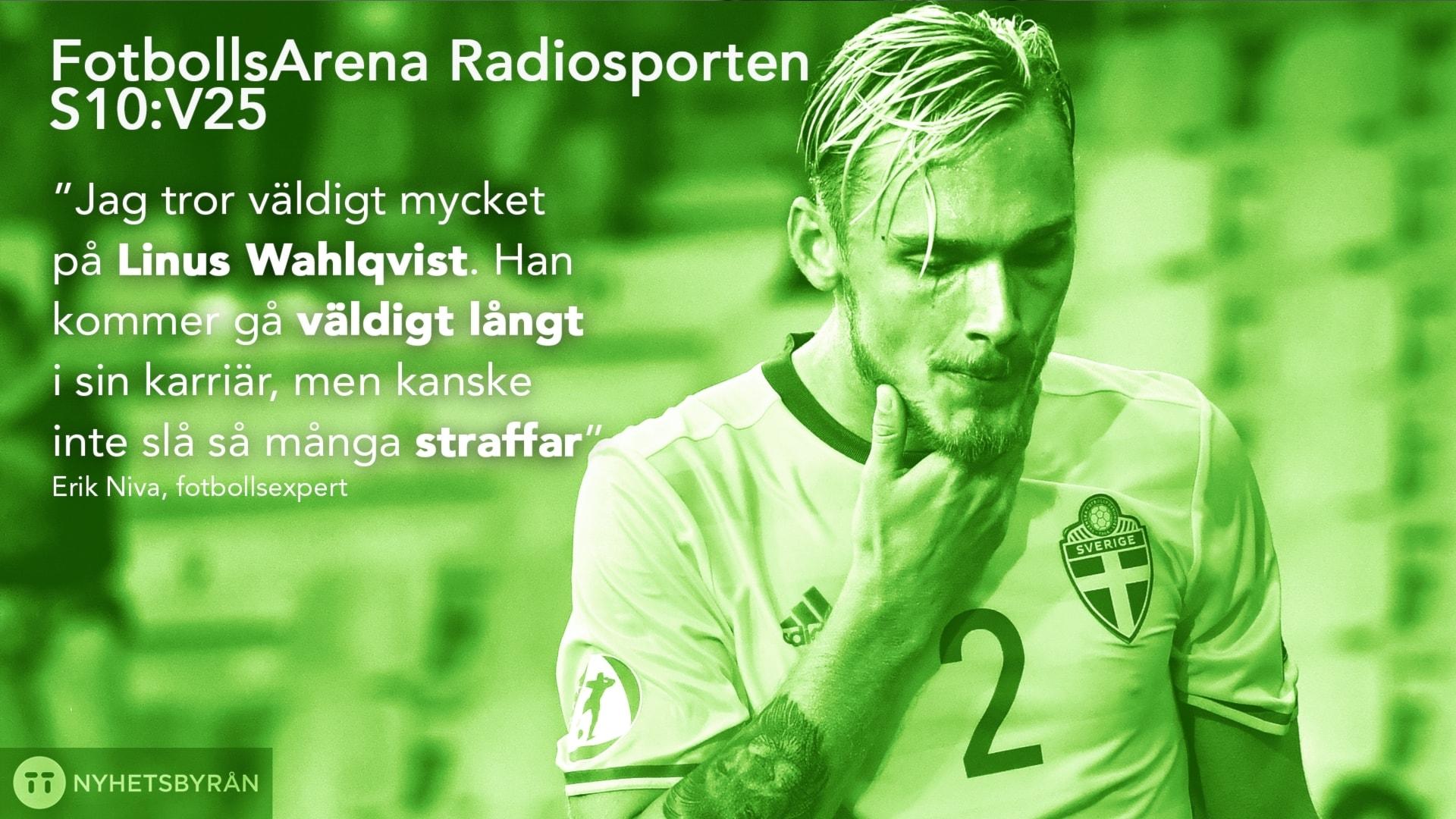 Linus Wahlqvist blir största stjärnan från U21-laget